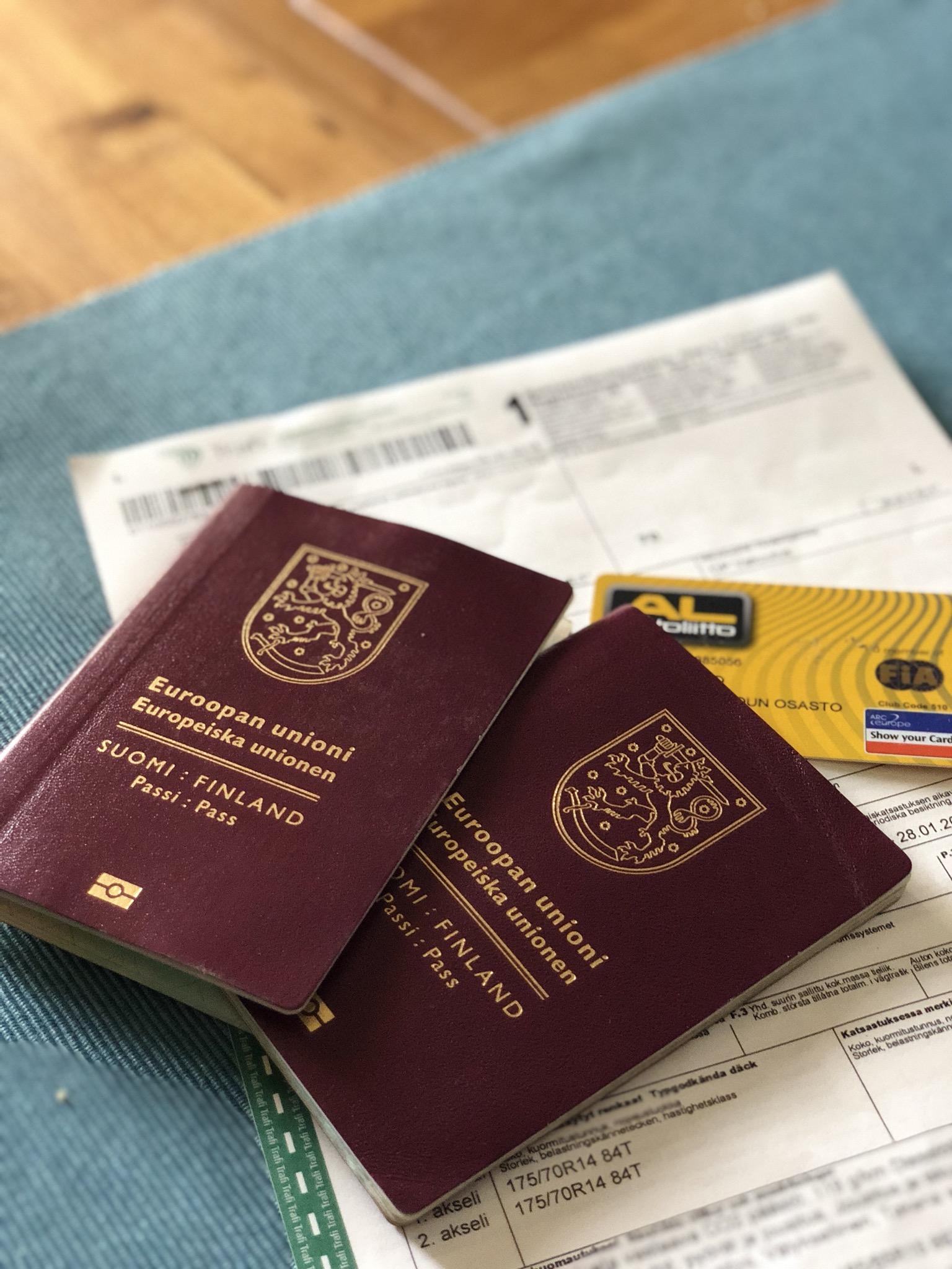 Matkustusasiakirjat